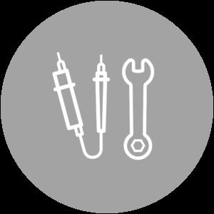 Infrastrukturmanagement Icon